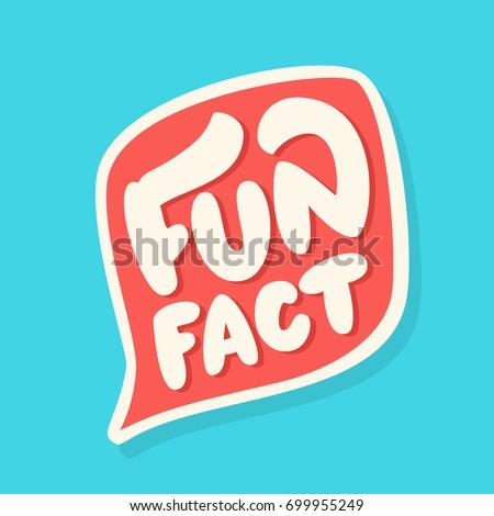 Fun fact. Lettering.