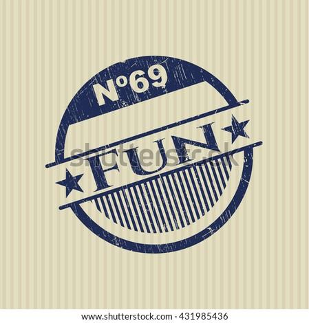 Fun grunge stamp