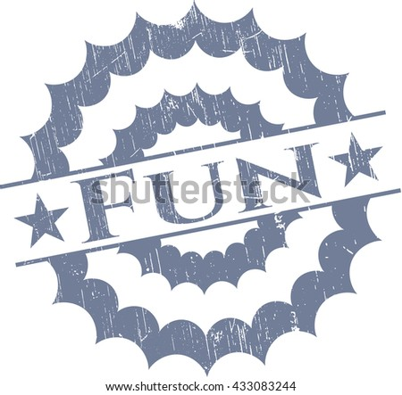 Fun rubber grunge texture seal