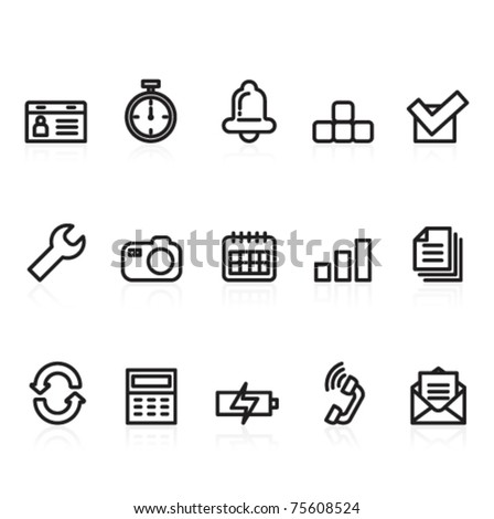 function and mobile icons
