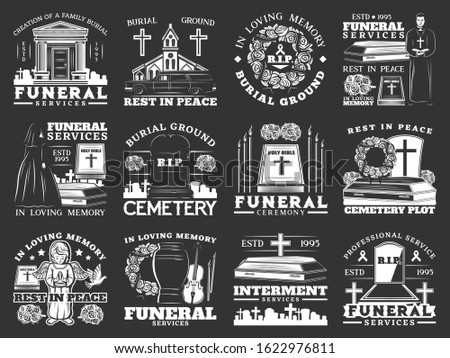 funeral  burial and interment