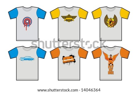 Funky T-Shirt pack.