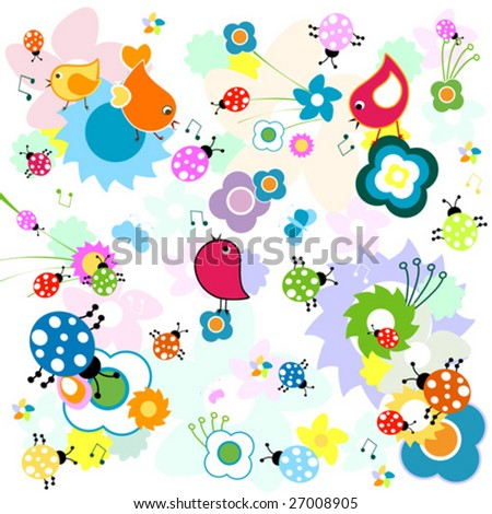 funny backgrounds. vector : funny background,