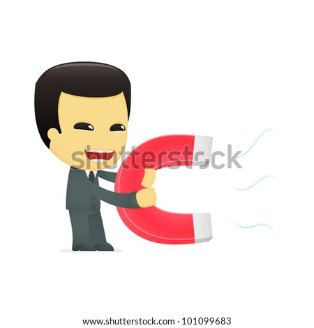 funny cartoon asian businessman in various poses for use in advertising, presentations, brochures, blogs, documents and forms, etc.