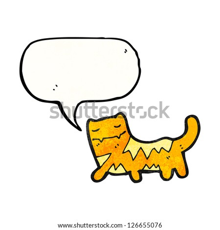 funny cartoon cat