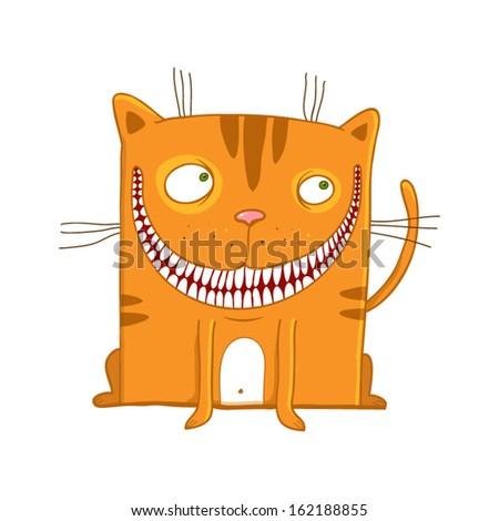 funny cartoon cat cute hand