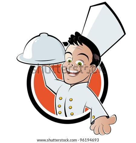 funny cartoon chef