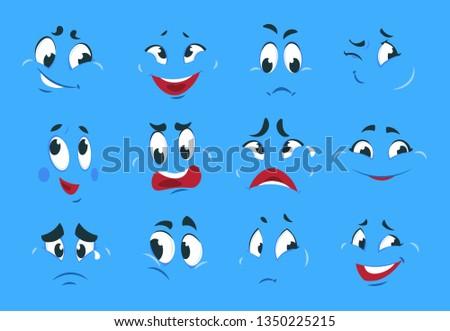 funny cartoon expressions evil