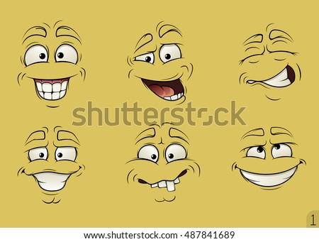faces cartoons download free vector art stock graphics images rh vecteezy com cute funny faces cartoons funny face cartoons free