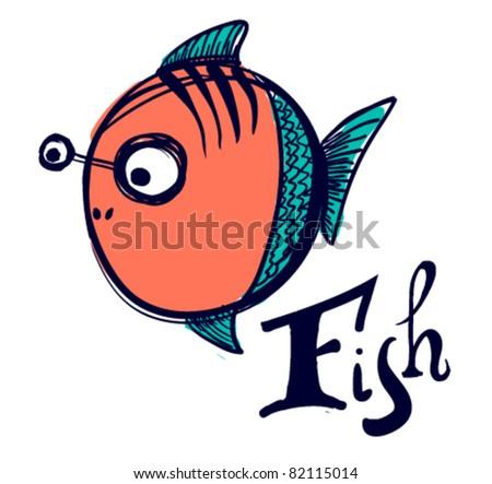 Funny fishing logos