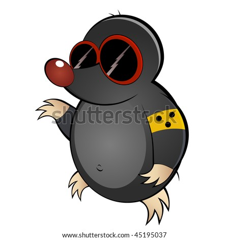 Mole day cartoon