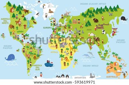 World Map Illustration Vector - Download Free Vector Art, Stock ...
