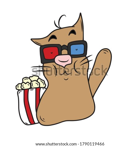 funny catvector children's