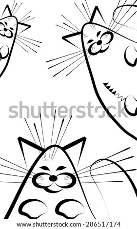 funny cats curious peep
