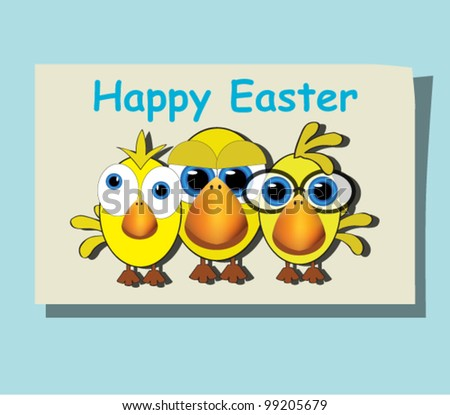 Funny Happy Easter Pictures Funny chickens on happy easter