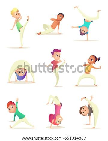 funny children practice