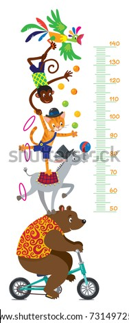 funny circus animals meter