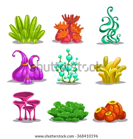 funny colorful vector fantasy