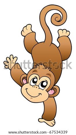 Related Pictures funny cute monkey vector illustration