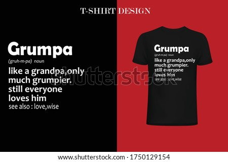 funny definition t shirt design