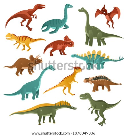 funny dinosaurs collection of