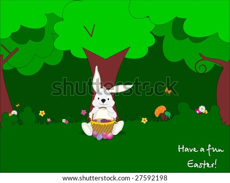 funny easter pictures. stock vector : funny easter
