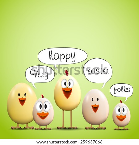 funny easter eggs chicks