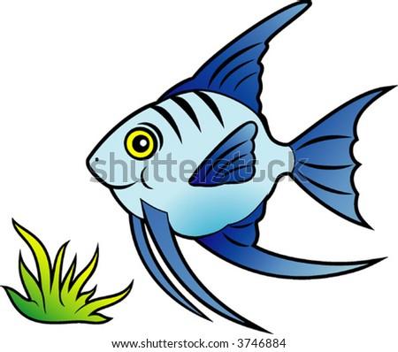 funny fish. stock vector : Funny fish.