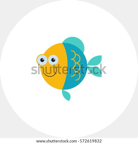 funny fish icon