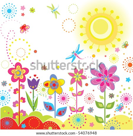 funny greeting cards. stock vector : Funny greeting