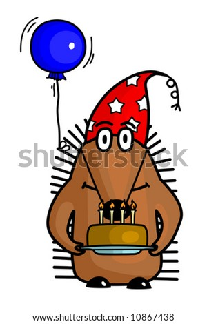 stock-vector-funny-hedgehog-in-party-hat-with-the-cake-vector-10867438.jpg