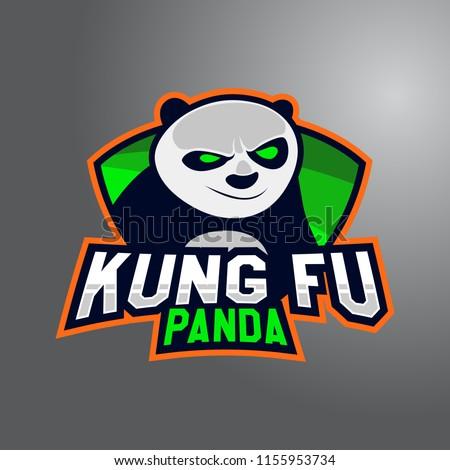 funny kung fu panda mascot e