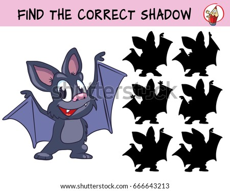 funny little bat find the
