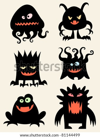Funny little monsters