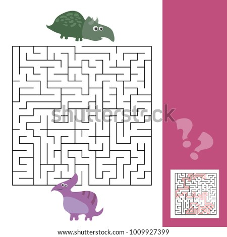 funny maze for children help