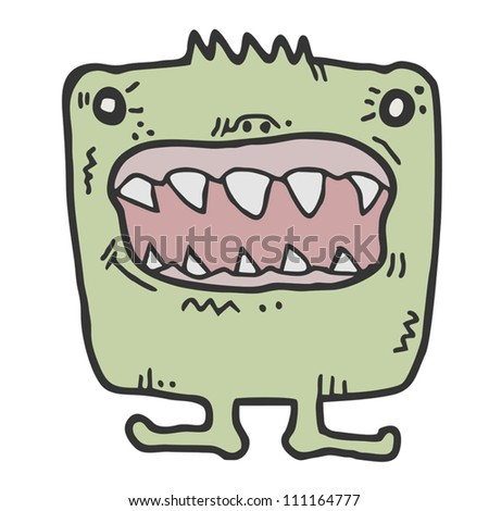 Funny monster style