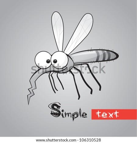 funny mosquito