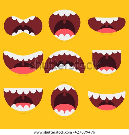 Funny Mouths And Expressions