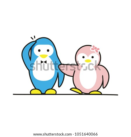 funny penguins friends