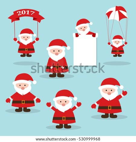 funny santacute santa claus