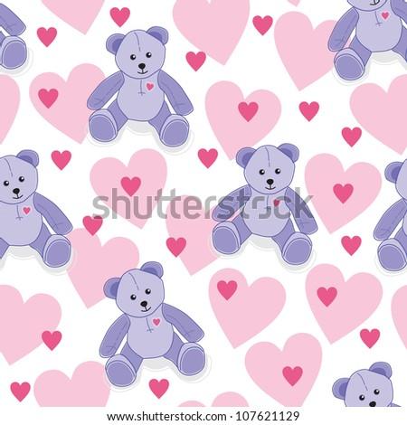 Crochet Pattern: Teddy Bear Applique