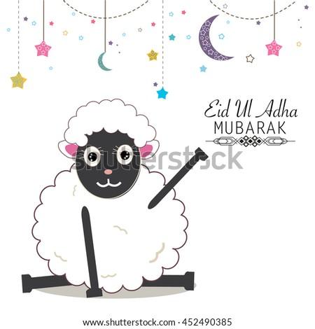 funny sheeps vector