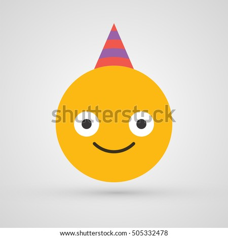 funny smiley birthday party