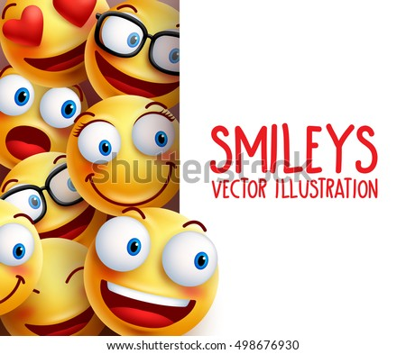 funny smiley face vector