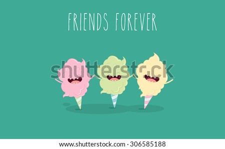 funny sweet cotton candy