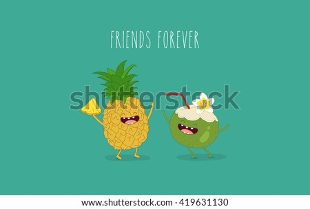 funny tropical fruits....