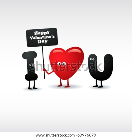 Funny Valentines  Cards on Funny Valentine S Day Card Stock Vector 69976879   Shutterstock