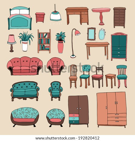 Lounge Suite Accessories Set With Lounge Suites