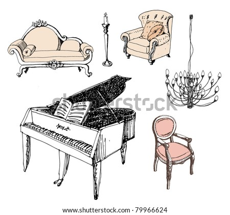 furniture chair sofa piano