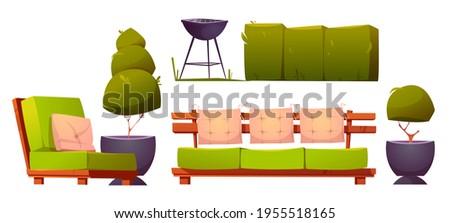 furniture for backyard or patio